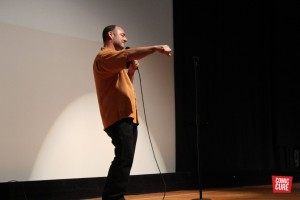 Larry Agor Performing in the Coral Gables Comedy Festival at the University of Miami