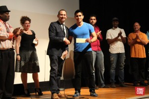Cristian Munarriz Winner of the 2016 Coral Gables Comedy Festival at the University of Miami
