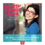 Jewish Comedy Tour with Dana Eagle