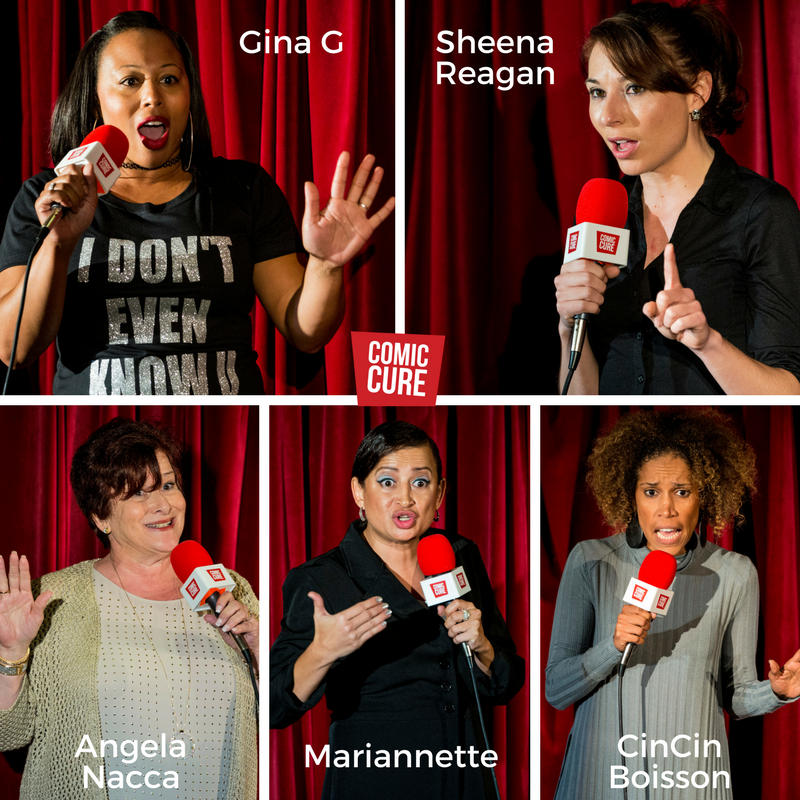 Comic Cure's 2017 Florida's Funniest Females