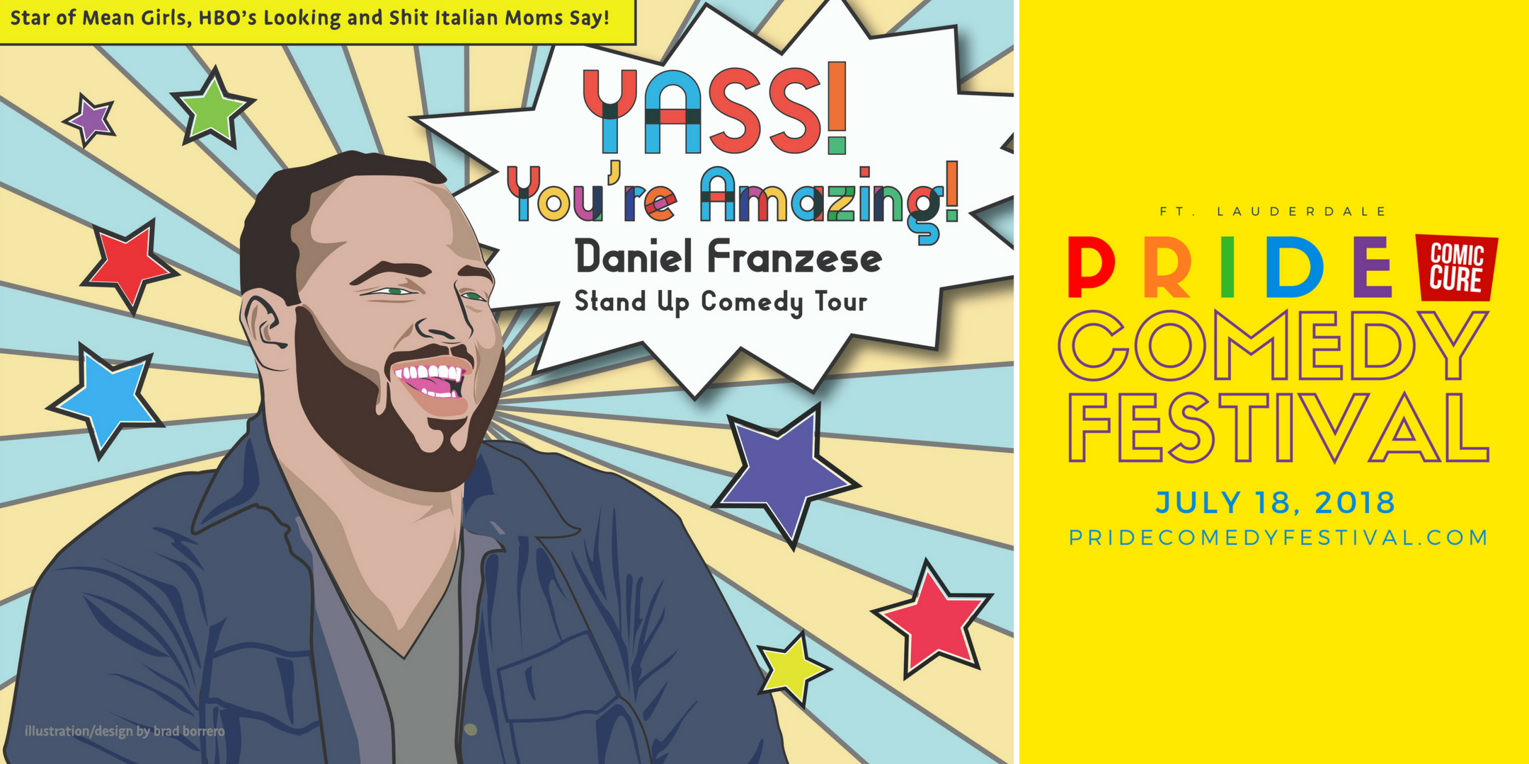 Pride Comedy Festival 2018 – Fort Lauderdale
