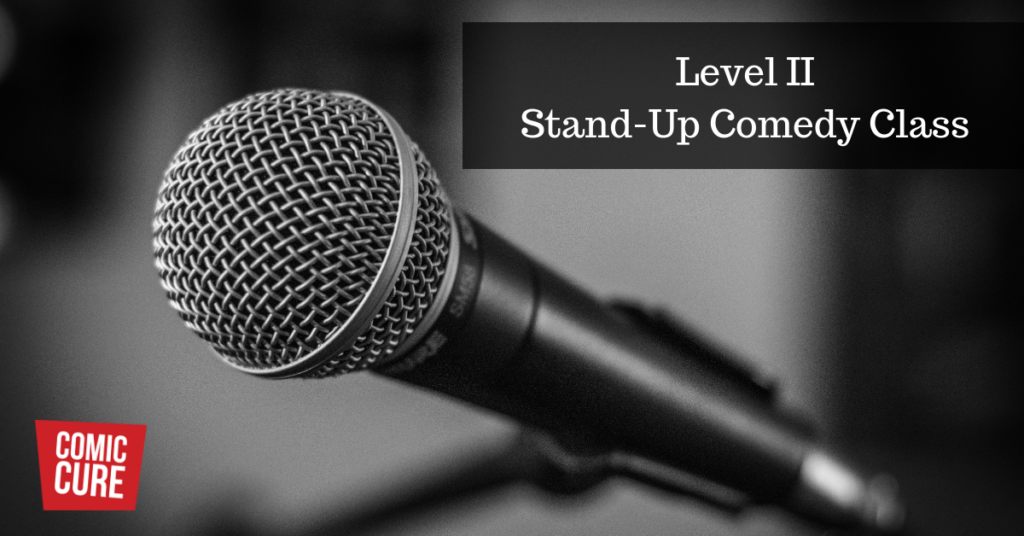 Level II Stand-Up Comedy Class Boca Raton
