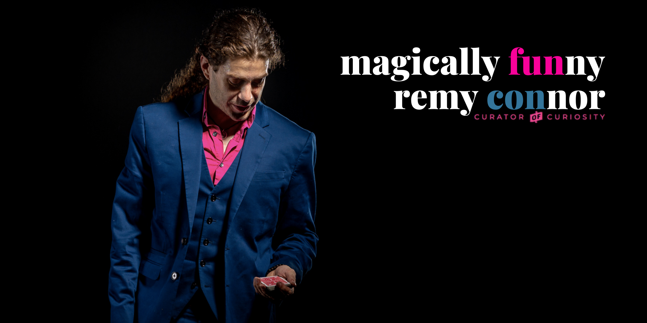 Remy Connor Magician Banner