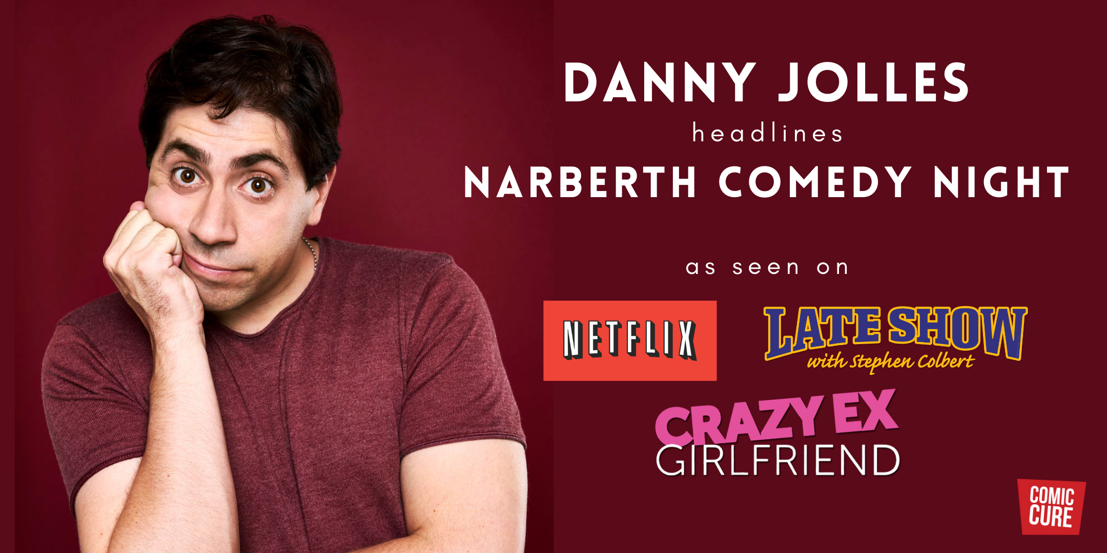 Fri. October 16 – Narberth Comedy Night with Danny Jolles