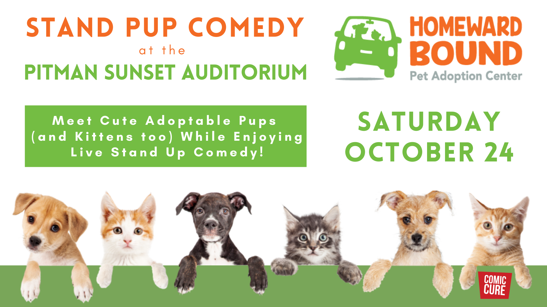 Sat. October 24 – Stand Pup Comedy with Bonnie McFarlane
